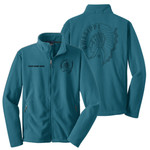 P123 - S41.0-2017 - F217 - Owasippe Fleece Jacket with Laser Etch Front & Back