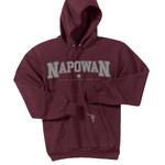 PC78H - P123-S11.7-2017 - Applique - Camp Napowan Pullover Hoodie